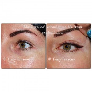 butterfly eyeliner permanent makeup