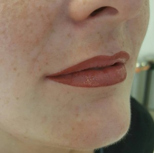 permanent makeup lips Tracy Fensome