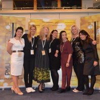 Tracy Fensome judges at the first UK Permanent Makeup Championship
