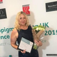 Tracy Fensome Judges at the Micropigmentation Awards 2019